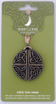 WGS Bronze Hanging Decoration Celtic Love Cross
