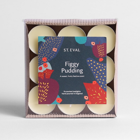 ST Eval Scented Tealights-Figgy Pudding