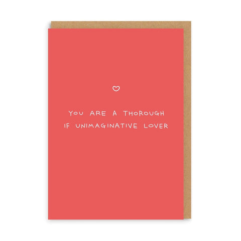 OD Thorough Lover Card