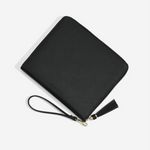 Stackers Vegan Leather Ipad Mini Clutch Bag-BLK