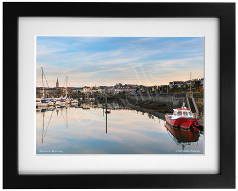 PRM Framed Photo Print-Bangor Marina