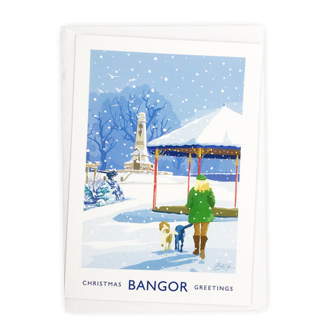 James Kelly Christmas Card - Bangor Ward Park