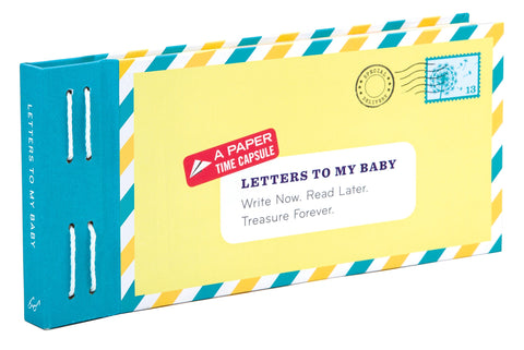 CBK Letters To My Baby: Write Now. Read Later. Treasure Forever