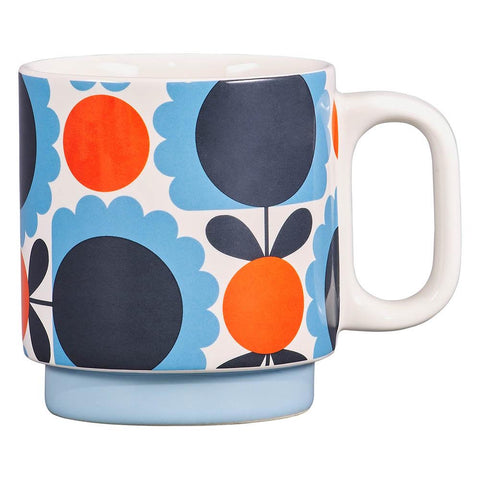 Orla Kiely Scallop Flower Forest Mug