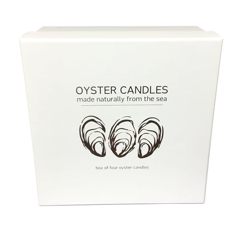LIGA Oyster Candle - Set of 4