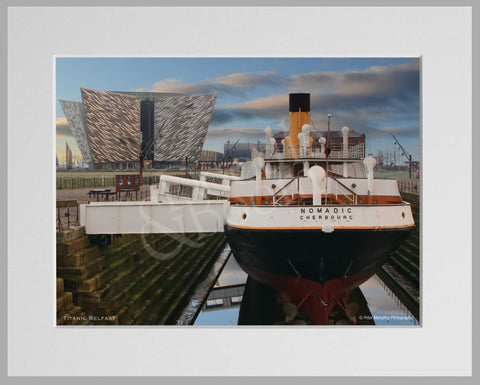 PRM Mounted Photo Print-Titanic Center Belfast
