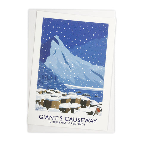 James Kelly Christmas Card - Giant's Causeway