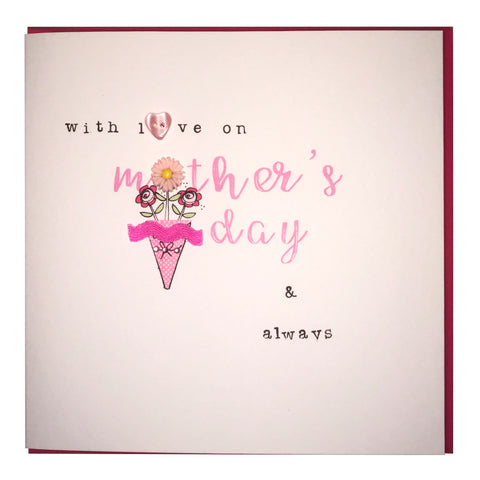 Laura Sherratt With Love On Mothers Day Card