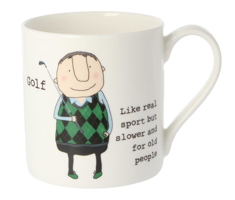 MCL Rosie Made A Thing Mug-Mens Golf