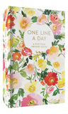 CBK One Line A Day 5YR Memory Journal-Floral