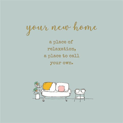 Laura Sherratt Your New Home Card