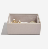 Stackers Taupe Mini Jewellery Box - Set of 2
