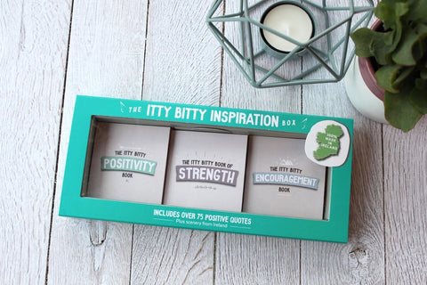Itty Bitty Book Co Positivity, Strength & Encouragement Books