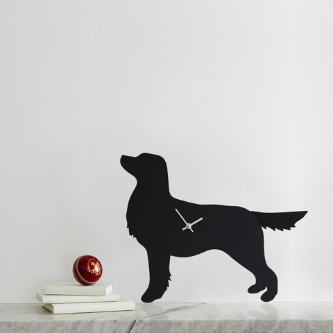 LC Retriever Terrier Clock