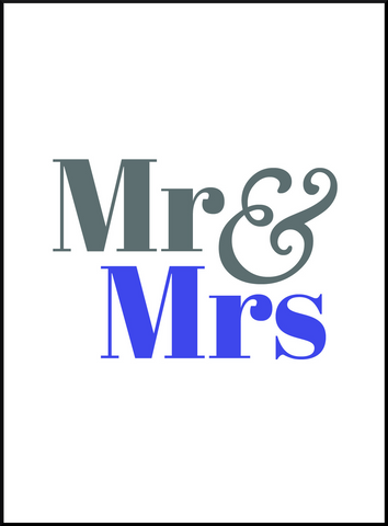 SBK Mr & Mrs Book