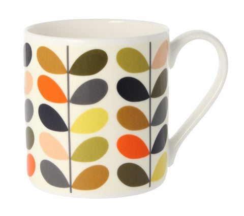 MCL Orla Kiely Mug-New Multi Coloured Ten Stem
