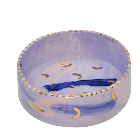 Rebecca Killen Trinket Dish Blue-Curves