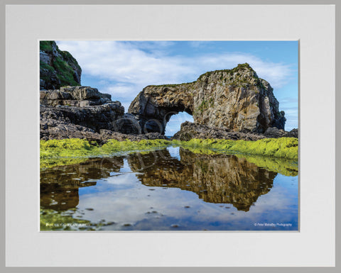 PRM Mounted Photo Print-Pollet Great Arch, Donegal