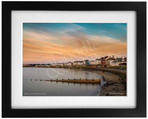 PRM Framed Photo Print-Ballyholme Esplanade