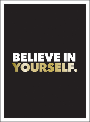 SBK Believe In Yourself Book