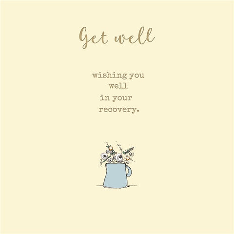 Laura Sherratt Get Well Card