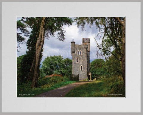 PRM Mounted Photo Print-Helen's Tower, NI