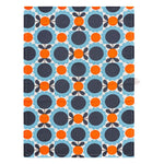 Orla Kiely Scallop Flower & Linear Stem Tea Towels Set of 2