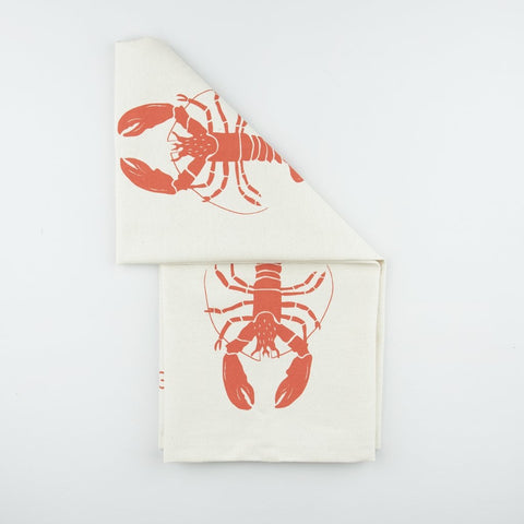 Liga Organic Tea Towel-Lobster