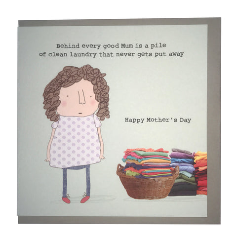 RMT Mothers Day Clean Laundry Card