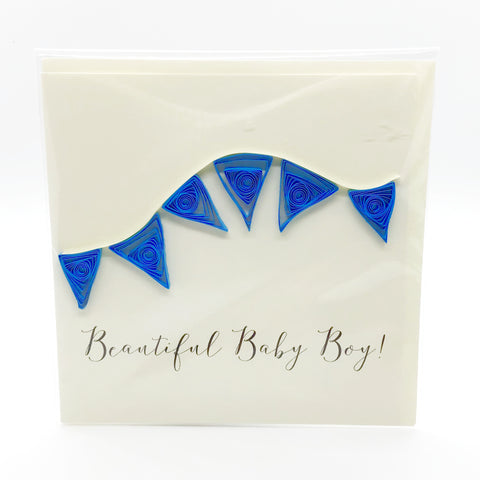 Luminosity Beautiful Baby Boy Card