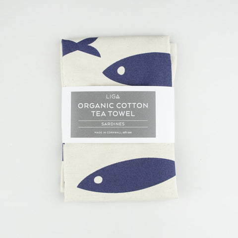 Liga Organic Tea Towel-Fish