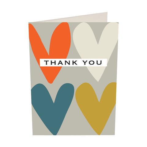 CG Notecard Pack - Thank You Hearts