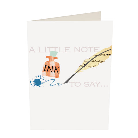 CG Notecard Pack - A Little Note To Say