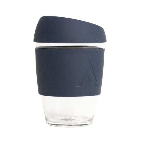 UBS Reusable Glass Travel Cup - Mood Indigo