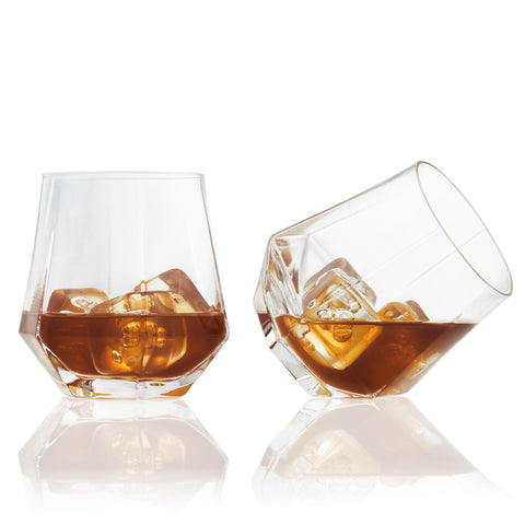 UBS Faceted Cocktail Glasses