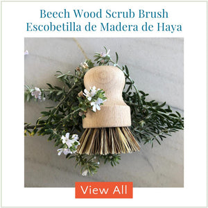 Beech Wood Scrub Brush