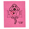 Swedish Dishcloth - Dog Love Ever Green Sponge Cloth