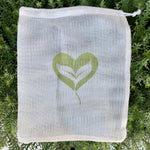 100% Natural Cotton Mesh Bag - Ever Green Cloth