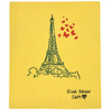 Ever Green Cloth - Large Sponge Cloth Eiffel Tower / Paris Print