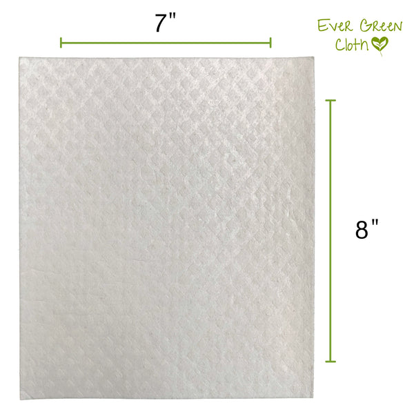 Heart Leaf Ever Green Sponge Cloth - (Pack of 3 cloths)
