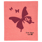 Swedish Dishcloth - Breast Cancer Awareness Ever Green Sponge Cloth