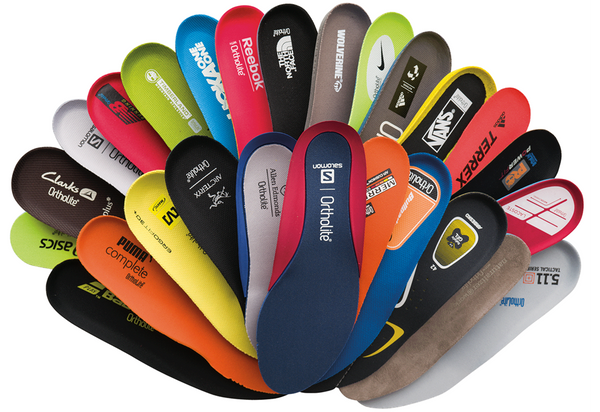 Ortholite And Superfeet Insoles