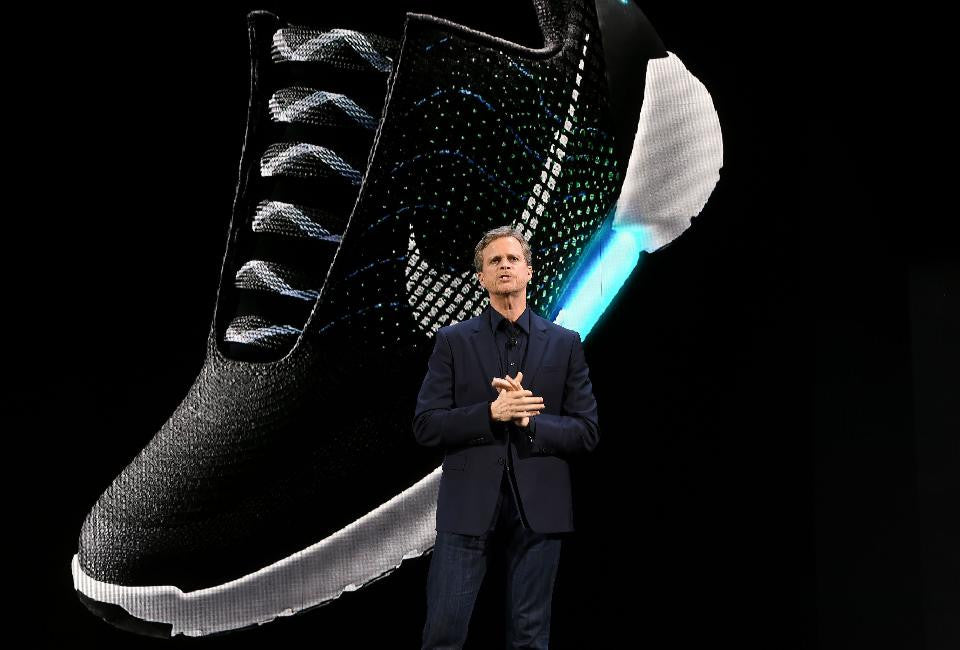 Self-Lacing Shoes Make The Future A Reality