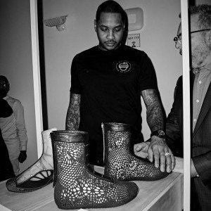 Carmelo Anthony Saw the Future of 3D Printed Footwear in 2015