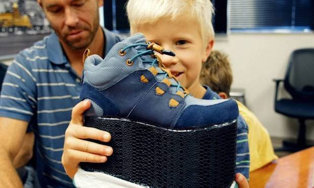 Dinsmore Brings Young Boy Custom Orthotics