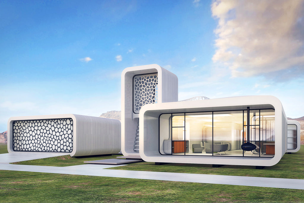 Attractive Build A Dream House Like Lego With 3D Printing