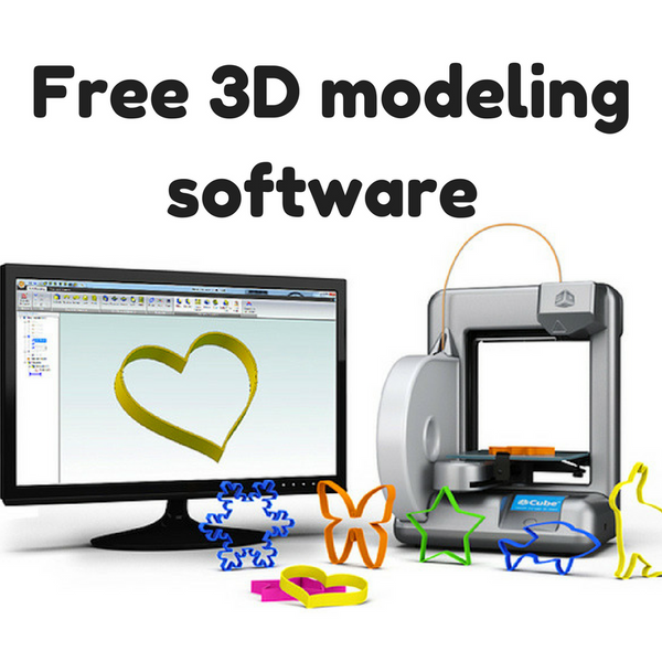 Best Free 3D modeling software 2017