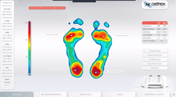 Aetrex Foot Scanning