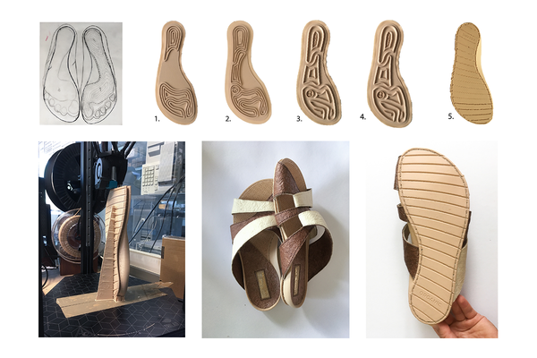 Biodegradable 3D Sandals