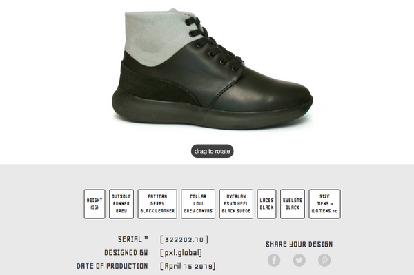 Pxl Shoe Customization Platform